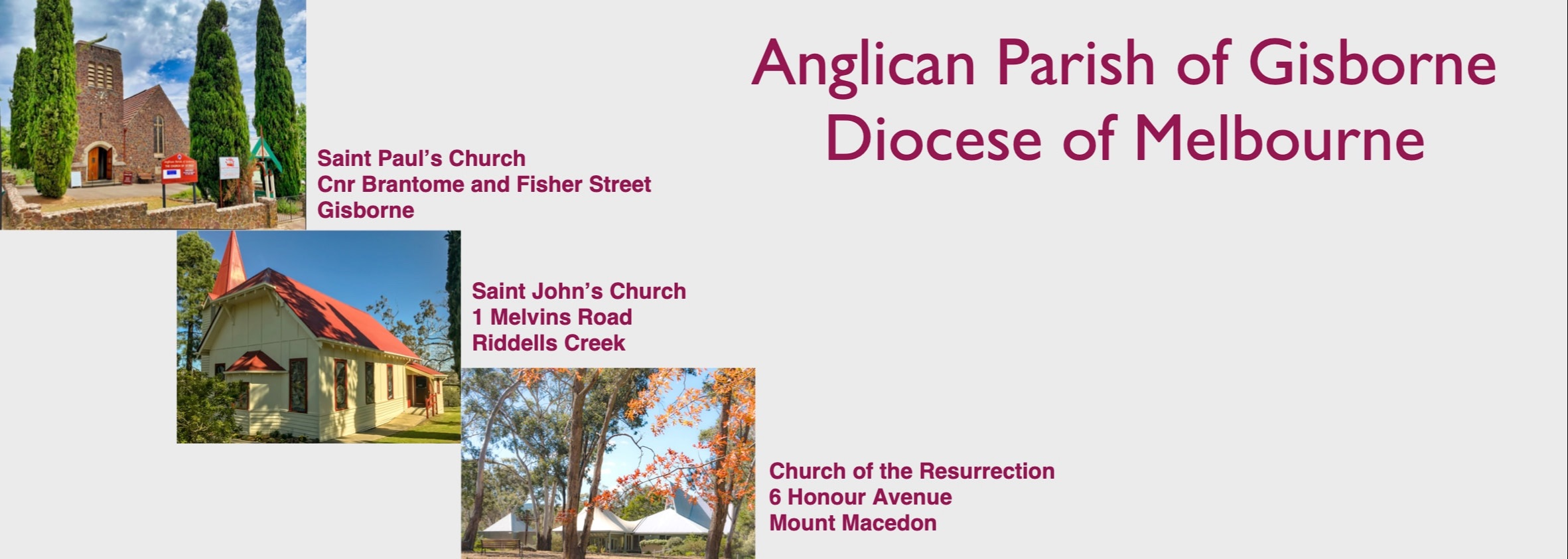 Anglican Parish Of Gisborne